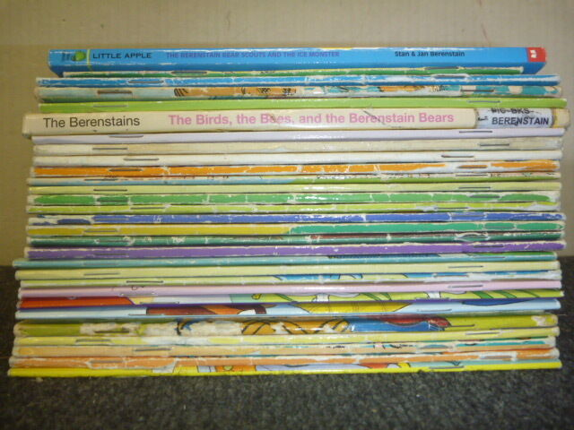 Lot of 10 Berenstain Bears Children Kids Stan & Jan Picture Series MIX UNSORTED