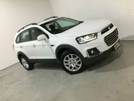 2016 Holden Captiva CG MY17 Active 2WD White 6 Speed Sports Automatic Wagon Mile End South West Torrens Area Preview
