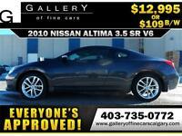 2010 Nissan Altima 3.5SR $109 BI-WEEKLY APPLY NOW DRIVE NOW