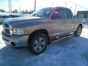 2004 DODGE RAM 1500 LARAMIE  4X4 LEATHER 5.7 V8 WE FIFNANCE!!!