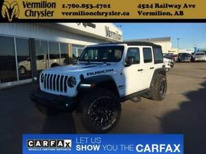 2018 Jeep Wrangler Unlimited JL Rubicon, Heated Leather, Fuel Ri
