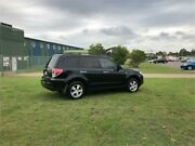 2008 Subaru Forester MY08 XS Black 4 Speed Auto Elec Sportshift Wagon Kurri Kurri Cessnock Area Preview