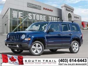 2013 Jeep Patriot Limited,LEATHER,4WD,LOW KMS!,ALLOYS, 185 B/W!!