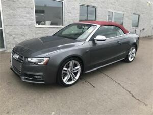 2015 Audi S5 Progressiv Quattro | CONVERTIBLE | LEATHER
