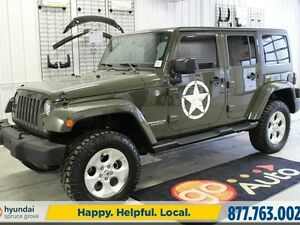2015 Jeep Wrangler Unlimited SAHARA 4X4/NAV/AUTO/POWER OPTIONS