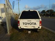2011 Toyota Hilux KUN26R SR White 4 Speed Automatic Dual Cab Garbutt Townsville City Preview