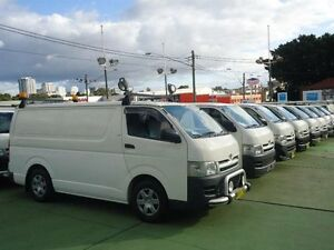 2006 Toyota Hiace TRH201R MY07 LWB White 4 Speed Automatic Van Canada Bay Canada Bay Area Preview