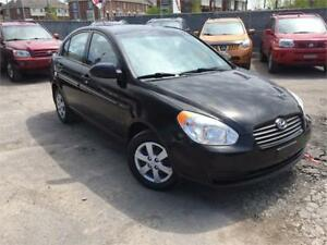 HYUNDAI ACCENT GL 2009 AUTO/AC/CD PLAYER/CRUISE/117000 KM !!