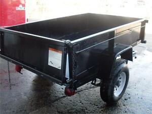 NEW PRICE! HUGE CLEARANCE 5X8-2 1/2 TON DUMP TRAILER!!