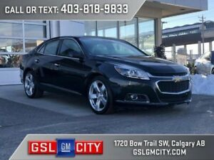2015 Chevrolet Malibu LTZ 2.0L Turbocharged, Front Wheel Drive
