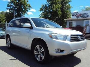 2009 Toyota Highlander V6 Sport awd leather sunroof heated seats