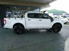 2012 Ford Ranger PX XL 3.2 (4x4) White 6 Speed Automatic Dual Cab Utility Hamilton Newcastle Area Preview