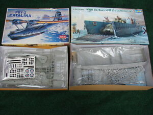 WW11 us navy -1/35 scale and DBY 2 Catalina 1/72 scale