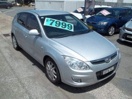 2008 Hyundai i30 FD SLX Silver 5 Speed Manual Hatchback Broadmeadow Newcastle Area Preview