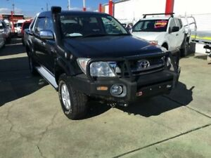 2010 Toyota Hilux GGN25R 09 Upgrade SR5 (4x4) Black 5 Speed Automatic Dual Cab Pick-up Granville Parramatta Area Preview