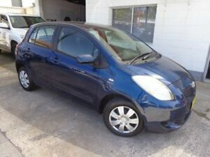 2005 Toyota Yaris NCP90R YR Blue 4 Speed Automatic Hatchback Sylvania Sutherland Area Preview