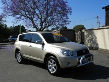 2007 Toyota RAV4 ACA33R MY08 Cruiser Gold Automatic Wagon Waterford Logan Area Preview