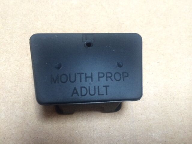 DENTAL MOUTH PROP BLACK RUBBER ADULT SIZE LATEX FREE , Henry Schein