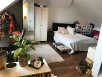 ~ A spacious double studio fully furnished with a large living/bedroom space #