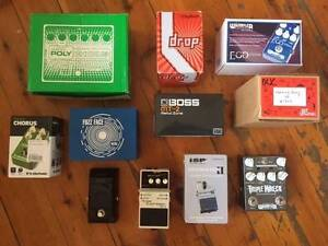 NEW & USED GUITAR PEDALS East Maitland Maitland Area Preview