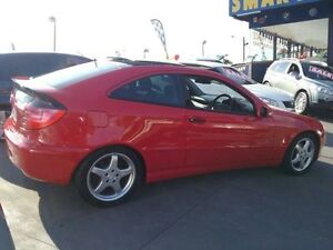 2002 Mercedes-Benz C200 CL203 Kompressor Red 5 Speed Auto Tipshift Coupe Greenacre Bankstown Area Preview