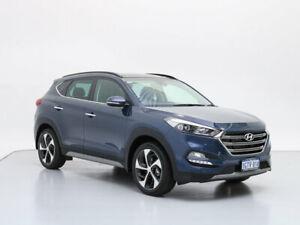 2018 Hyundai Tucson TLE2 MY18 Highlander (AWD) Stargazing Blue 7 Speed Auto Dual Clutch Wagon Jandakot Cockburn Area Preview
