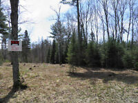Desirable outskirts building lot!