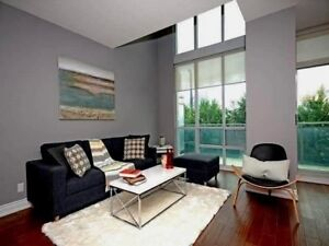 This Luxury Spacious And Bright 2 Storey Loft With 2 Bed+ den
