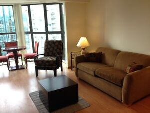 1 Bedroo +Solarium(like 2nd bdrm),Furnished,Downtown,Views,Nov 1