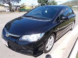 Automatic 2008 Honda Civic Sedan Mount Louisa Townsville City Preview