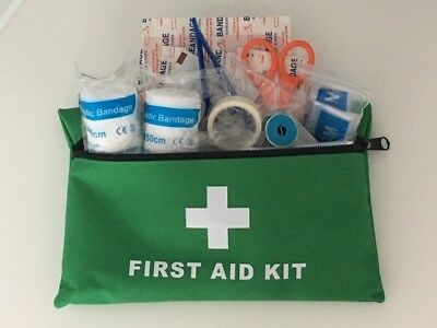 100 101 Pcs Compact Bag First Aid Kit Medical Emergency Set for Work Home Car