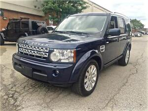 2012 Land Rover LR4 LUX, NAV, BACK UP CAMERA, 7 SEATER
