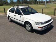 1998 Toyota Corolla AE101R CSi Seca White 5 Speed Manual Liftback West Gosford Gosford Area Preview