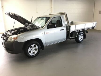 2010 Mazda BT-50 UNY0W4 DX Silver 5 Speed Manual Cab Chassis Frankston Frankston Area Preview