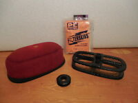 """XR250R """"UNI"""" AIR FILTER WITH HIGH FLOW CAGE (1987-2004)"""