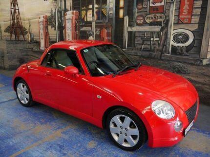 2003 Daihatsu Copen L880RK Red 5 Speed Manual Convertible Marrickville Marrickville Area Preview