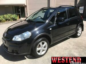 2007 Suzuki SX4 GY 4x4 Black 5 Speed Manual Hatchback Lisarow Gosford Area Preview