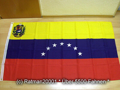 Fahnen Flagge Venezuela Sonderposten - 90 x 150 cm