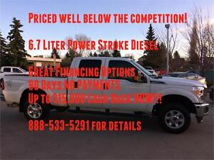 2015 Ford F-350 XLT 4x4 Diesel~Cheapest in Province!!! $338  b/w