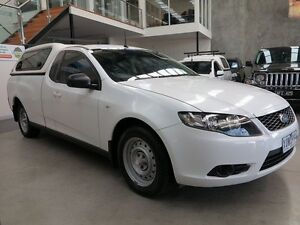2010 Ford Falcon FG Ute Super Cab White 4 Speed Sports Automatic Utility Keilor Park Brimbank Area Preview