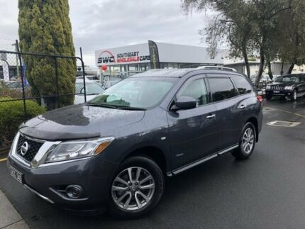 2014 Nissan Pathfinder R52 MY14 ST X-tronic 2WD Grey 1 Speed Constant Variable Wagon Hybrid Seaford Frankston Area Preview
