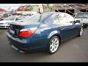2004 BMW 5 E60 Blue 6 Speed Kingsville Maribyrnong Area Preview