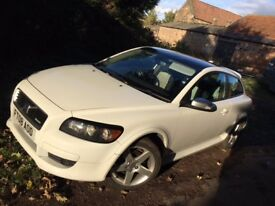 Volvo C30 1.6 Sport R-Design 2008 3 Door in white