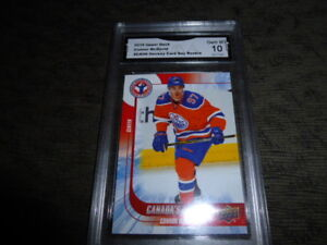 Lots of Premium Hockey cards 10.00 and up