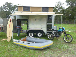 CUSTOM built OFF-ROAD Caravan and Prospector or Tradie's trailer Cowaramup Margaret River Area Preview