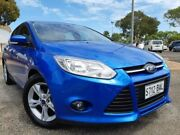 2013 Ford Focus LW MKII Trend PwrShift Blue 6 Speed Sports Automatic Dual Clutch Hatchback Gepps Cross Port Adelaide Area Preview