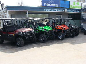 Kawasaki Mule and Teryx we wont be undersold Call Now