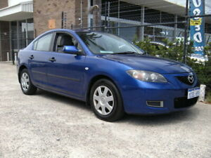 2006 Mazda 3 BK MY06 Upgrade Neo Blue 4 Speed Auto Activematic Sedan Wangara Wanneroo Area Preview