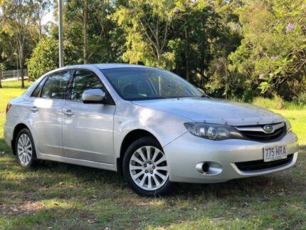 2009 Subaru Impreza G3 MY10 R AWD Silver 4 Speed Sports Automatic Sedan