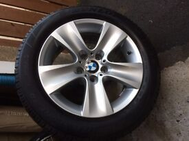BMW 5 series Genuine Alloy Wheels and Winter Tyres.......£750